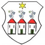 Ebendorfwappen mit Weinstöcken
